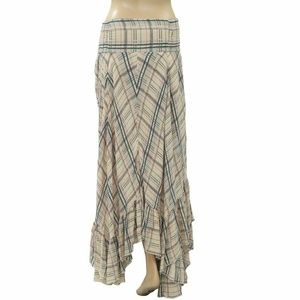 Free People Skirts - Free People FP One Gabrielle Striped Ivory Skirt S
